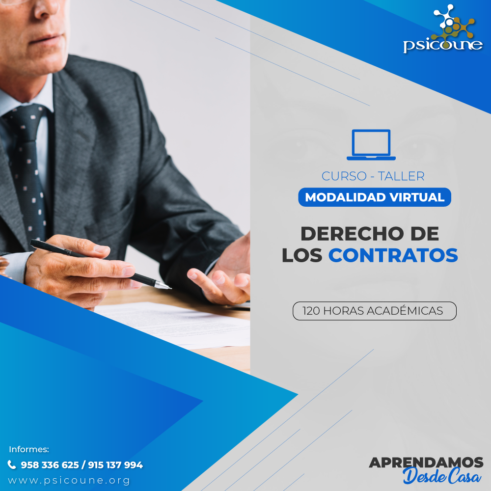 CURSO- TALLER: DERECHO DE LOS CONTRATOS