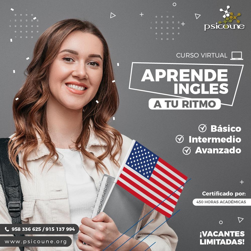CURSO DE ESPECIALIZACIÓN DE INGLES EN NIVEL: BÁSICO - INTERMEDIO & AVANZADO